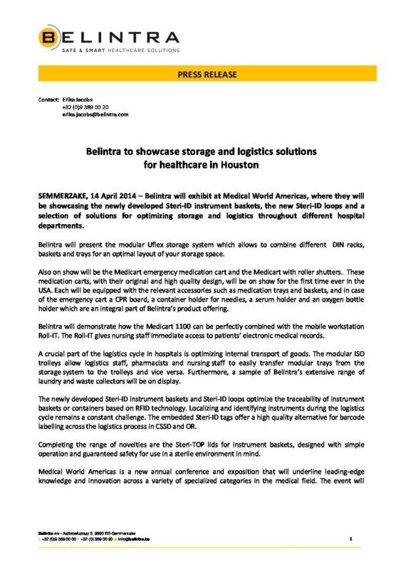 2014-April-MWA-Belintra-Press-Release-final - Belintra